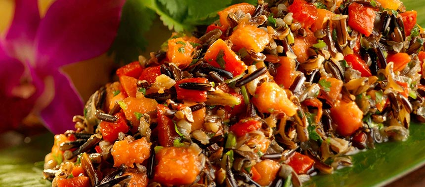 Gingered-California-Wild-Rice-and-Papaya-Salad-12